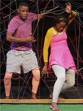 2018国家大剧院国际儿童戏剧季:金砖国家儿童戏剧展演剧目肢体剧《啊哈》